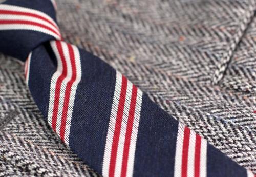 navy-wool-skinny-tie