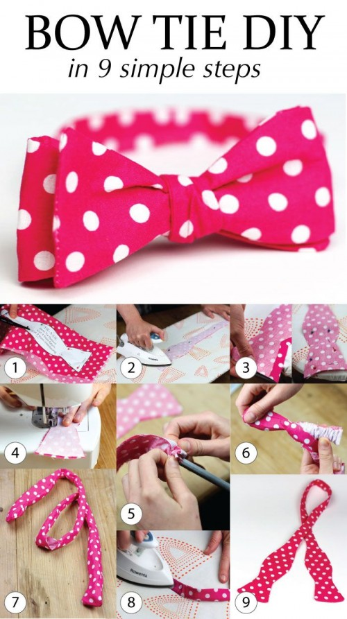 Diy Bow Tie Video Learn To Sew Your Own Ties A
