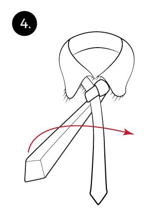 Christensen Tie Knot Instructions