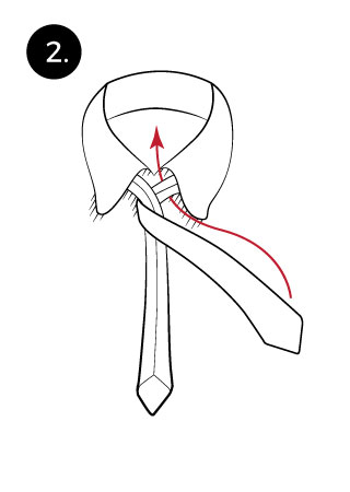 Manhattan necktie knot