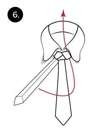 tie a tie with trinity knot