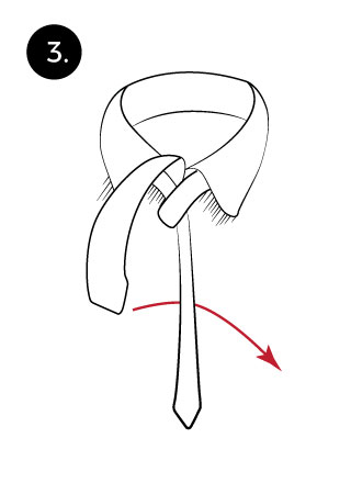 Learn to tie a windsor tie knot