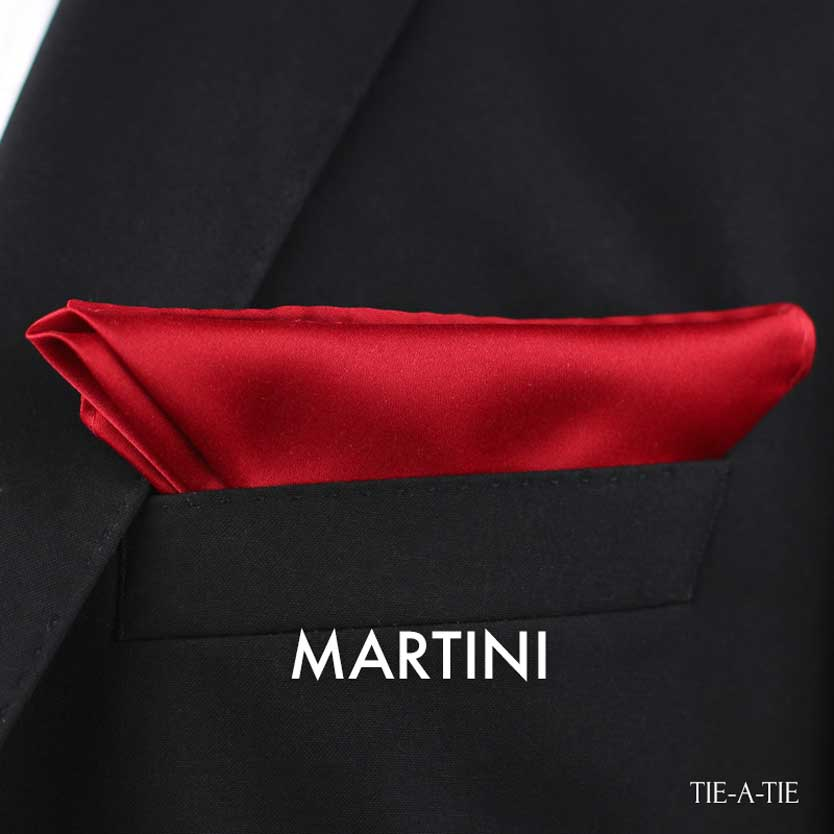 Martini Pocket Square Fold