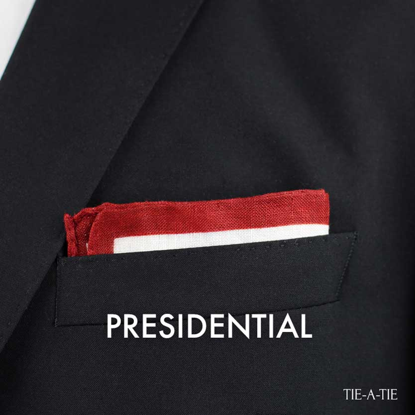 Presidential Pocket Square Fold