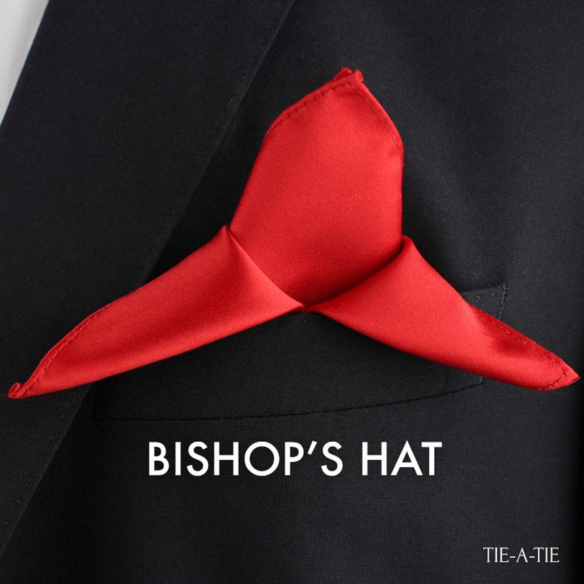 bishops hat fold