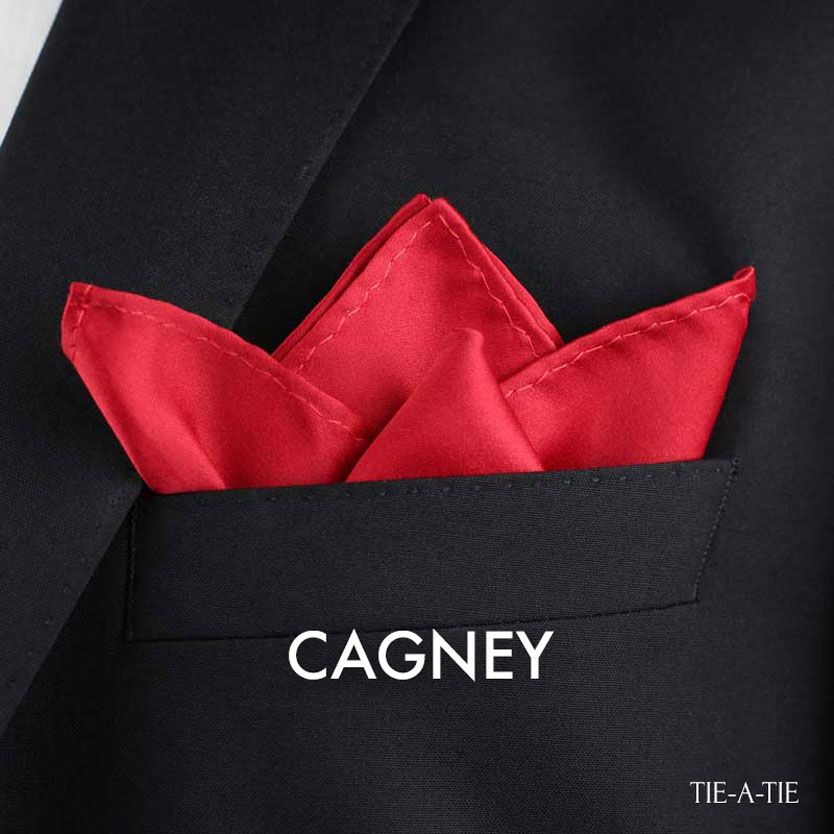 Cagney Pocket Square Fold Instructions