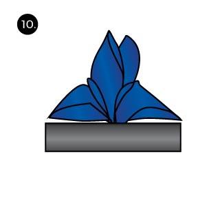 Fleur de Lis Folds for Pocket Squares