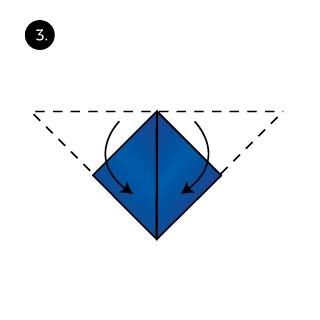 rabbit pocket square fold