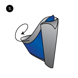 How to Rooster Pocket Square Folding